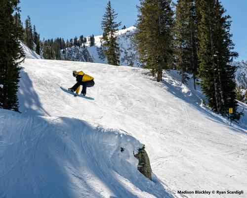snowboard bataleon mit Bindung